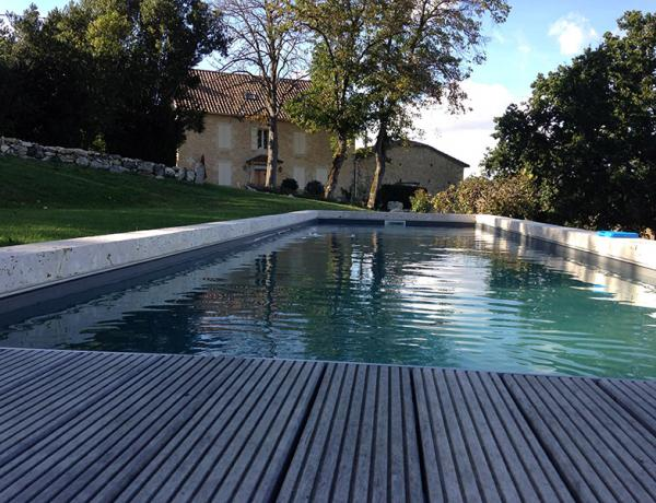 Piscine ma onnerie traditionnelle gers b oust s piscines for Piscine maconnerie